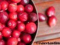 frische Cranberries