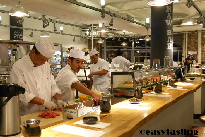 Sushi Bar Chelsea Market New York