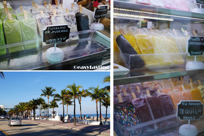 Fort Lauderdale Strand Eis