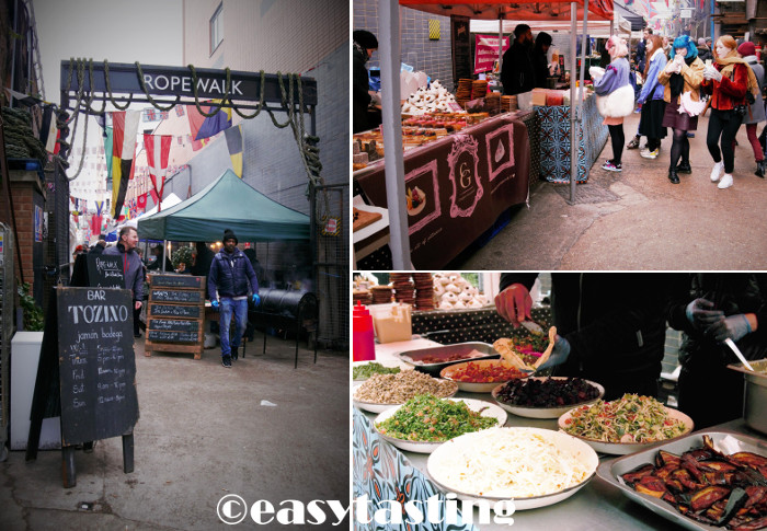 London Maltby Street Market Ropewalk Food