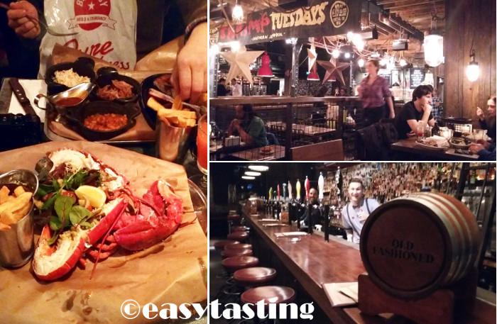 London Big Easy Restaurant Lobster Shack Review
