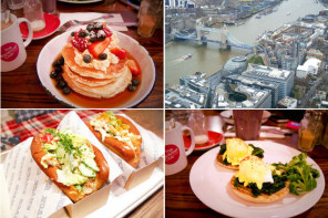 Taste of London: Deftiges Frühstück,The Shard & Lobster-Fest